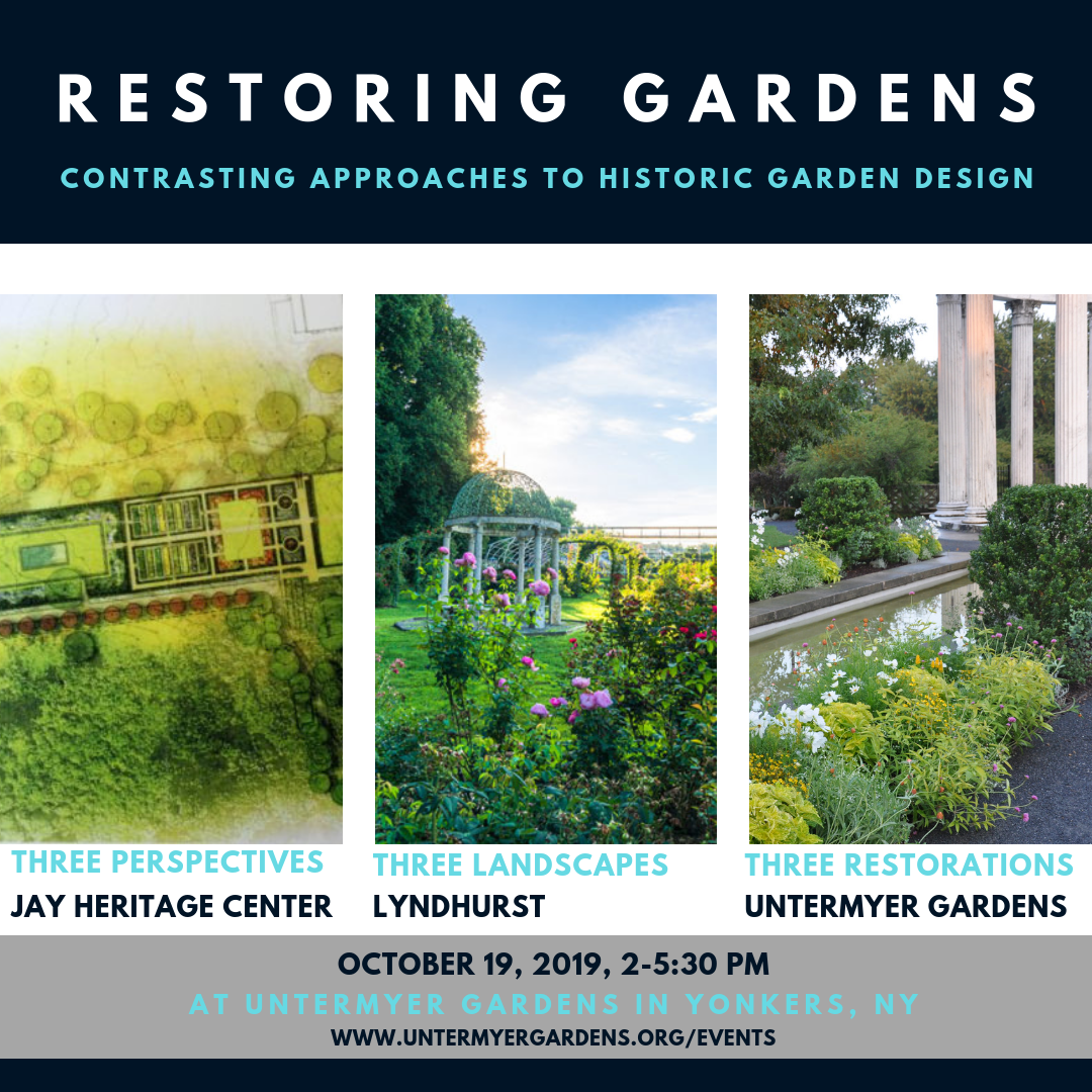 Events - Untermyer Gardens Conservancy